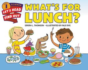 What's for Lunch? book image