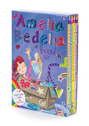 Amelia Bedelia Chapter Book 4-Book Box Set