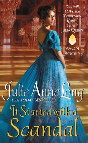 It Started with a Scandal Paperback  by Julie Long
