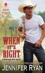 When It's Right Paperback  by Jennifer Ryan