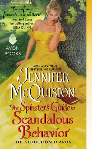 The Spinster's Guide to Scandalous Behavior book image