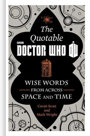 The Official Quotable Doctor Who book image