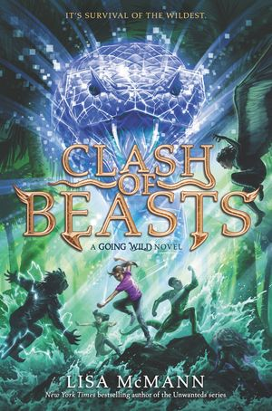 Going Wild #3: Clash of Beasts book image
