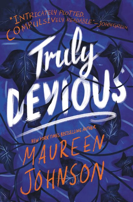 Image result for truly devious book cover