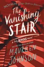 The Vanishing Stair Hardcover  by Maureen Johnson