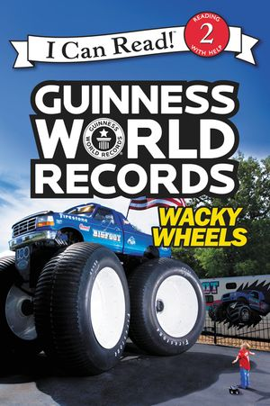 Guinness World Records: Wacky Wheels book image