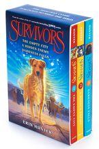 Survivors Box Set: Volumes 1 to 3 Paperback  by Erin Hunter