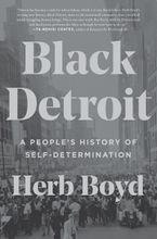 Black Detroit Hardcover  by Herb Boyd