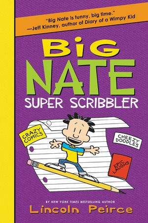 Big Nate Super Scribbler book image