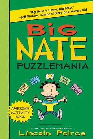 Big Nate Puzzlemania book image