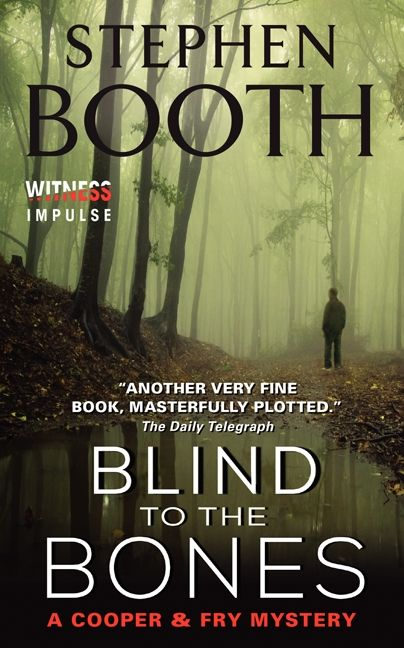 Book cover image: Blind to the Bones: A Cooper & Fry Mystery