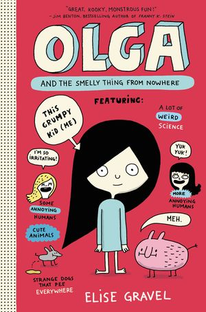 Olga and the Smelly Thing from Nowhere book image
