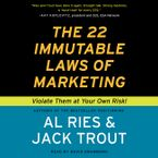 The 22 Immutable Laws of Marketing Downloadable audio file UBR by Al Ries