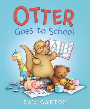 Otter Goes to School book image