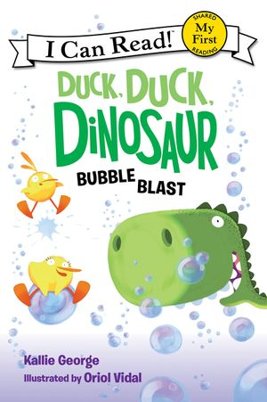Duck, Duck, Dinosaur: Bubble Blast book image