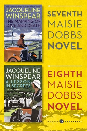 Maisie Dobbs Bundle #3: The Mapping of Love and Death and A Lesson in Secrets book image