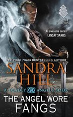 The Angel Wore Fangs Paperback  by Sandra Hill