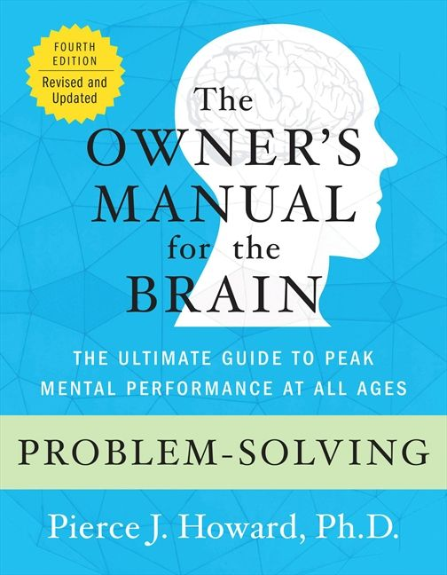 problem solving the owner s manual pierce howard e book