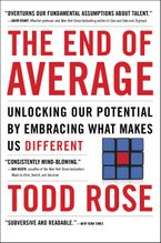 The End of Average Paperback  by Todd Rose