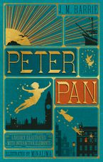 Peter Pan (Illustrated with Interactive Elements) Hardcover  by J. M. Barrie