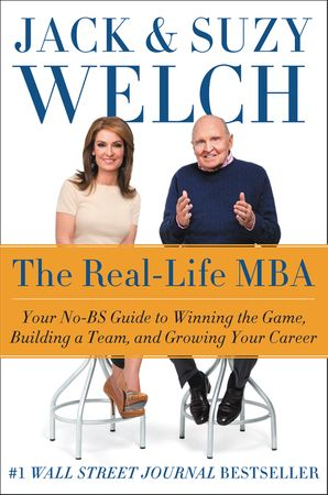Book cover image: The Real-Life MBA: Your No-BS Guide to Winning the Game, Building a Team, and Growing Your Career | New York Times Bestseller | #1 Wall Street Journal Bestseller