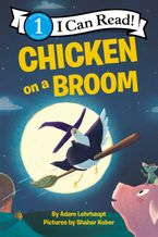 chicken-on-a-broom