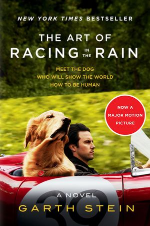 The Art of Racing in the Rain Tie-in book image