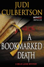 A Bookmarked Death Paperback  by Judi Culbertson