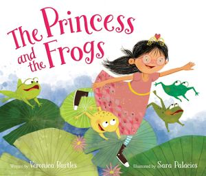The Princess and the Frogs book image