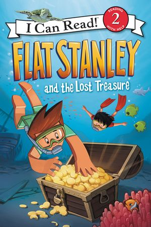 Flat Stanley and the Lost Treasure book image