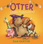 Otter Loves Halloween! Hardcover  by Sam Garton