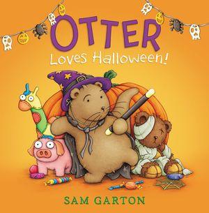 Otter Loves Halloween! book image