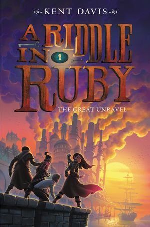 Riddle in Ruby #3: The Great Unravel,  A book image