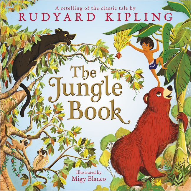 Children Book Cover Page : The jungle book rudyard kipling laura driscoll hardcover