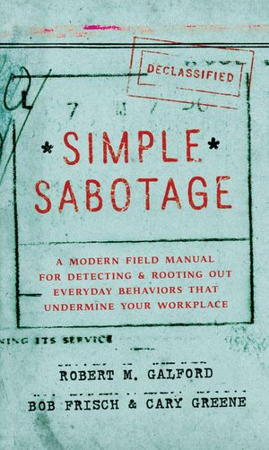 Simple Sabotage book image