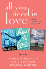 infinity vase. all you need is love: 3-book teen fiction collection infinity vase