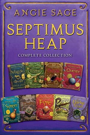septimus-heap-complete-collection