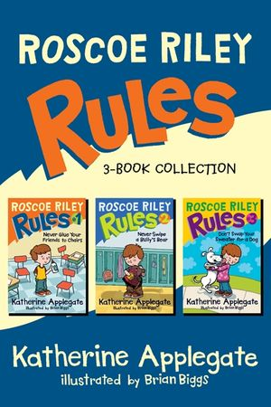 Roscoe Riley Rules 3-Book Collection book image