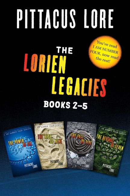 The Lorien Legacies Books 2 5 Collection Pittacus Lore Ebook