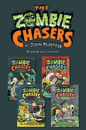 Zombie Chasers 4-Book Collection book image
