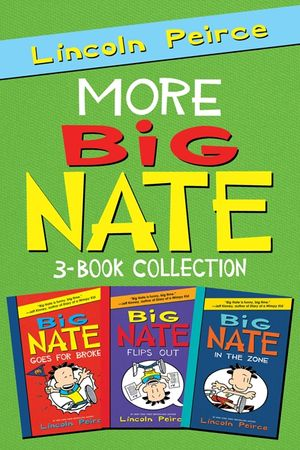 More Big Nate! 3-Book Collection book image
