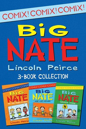 Big Nate Comics 3-Book Collection book image