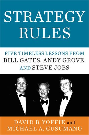 Strategy Rules book image