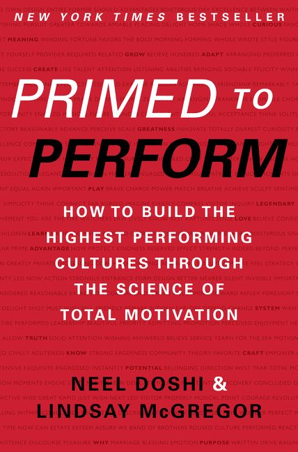Primed to Perform - Neel Doshi - Hardcover