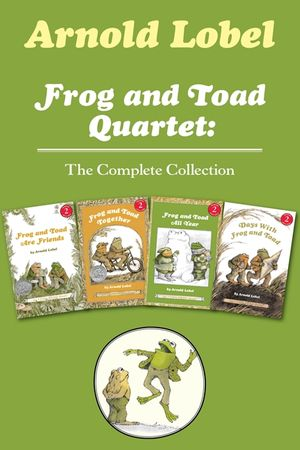 Frog and Toad Quartet: The Complete Collection book image