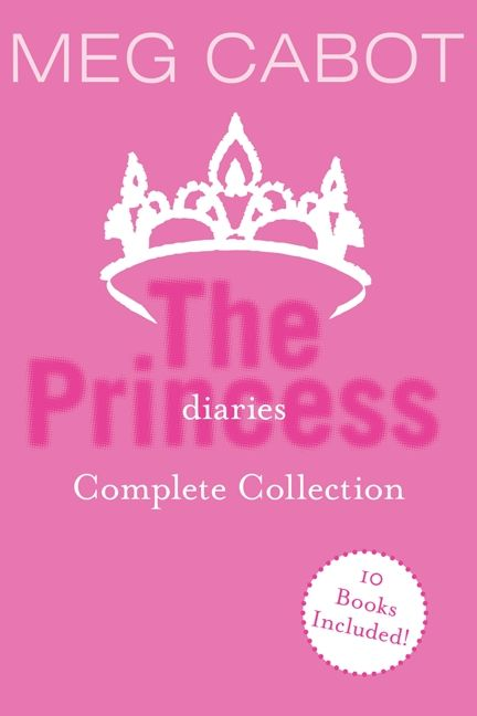 The princess diaries complete collection meg cabot e book enlarge book cover fandeluxe Gallery