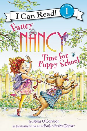 Fancy Nancy: Time for Puppy School book image