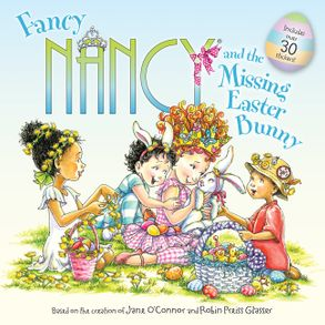 Image result for fancy nancy and the missing easter bunny