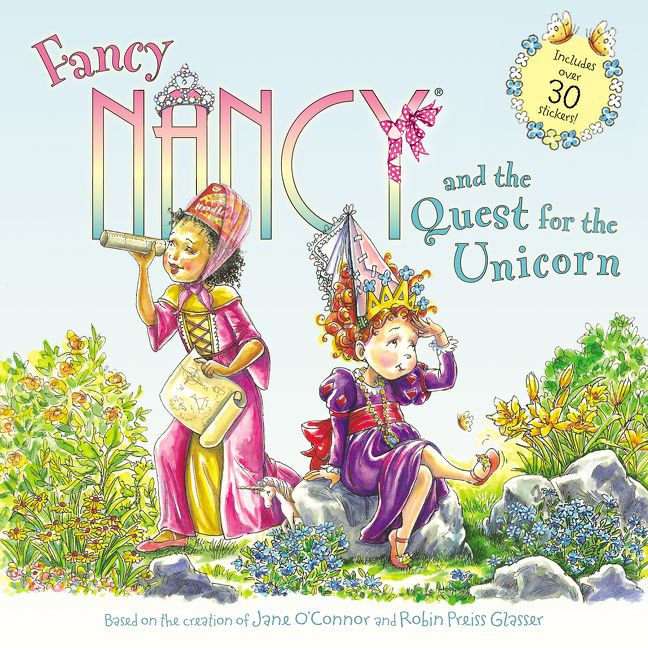 Food Book Cover Quest ~ Fancy nancy and the quest for unicorn jane o connor