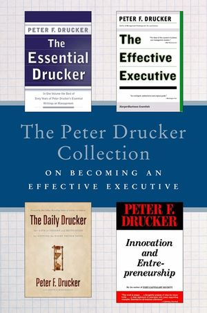 The Peter Drucker Collection on Becoming An Effective Executive book image